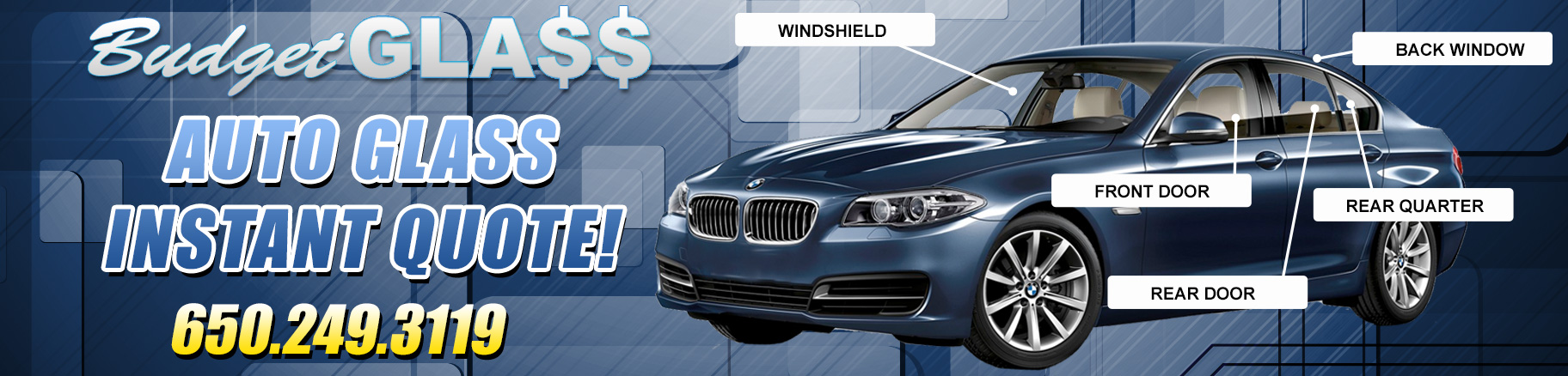 Auto Glass Quote Pleasing Auto Glass Repair San Carlos  California Windshield Replacement